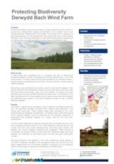Wind Farm Development - Protecting Biodiversity