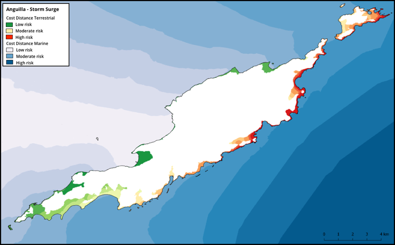 Map Of Uk Overseas Territories.Vulnerability Mapping In The British Overseas Territories