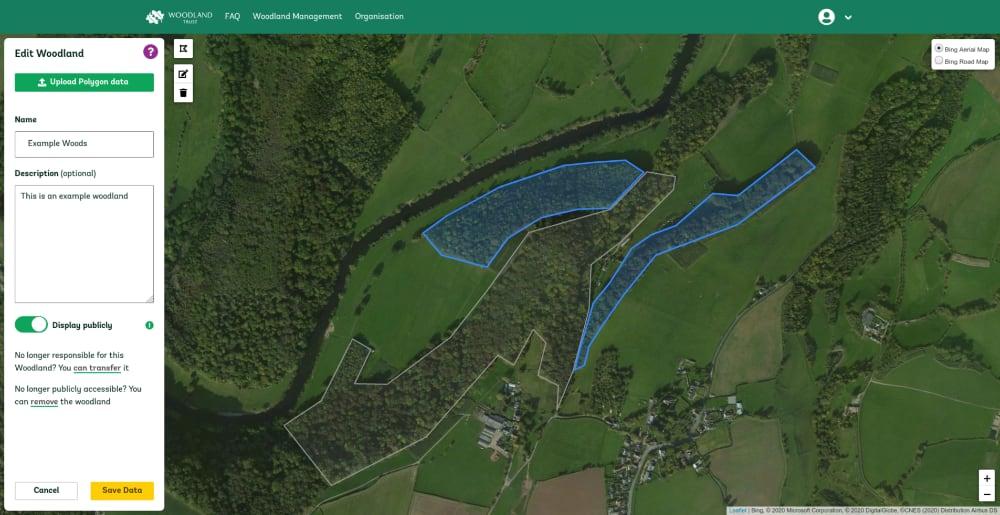 Woodland Trust Data Portal