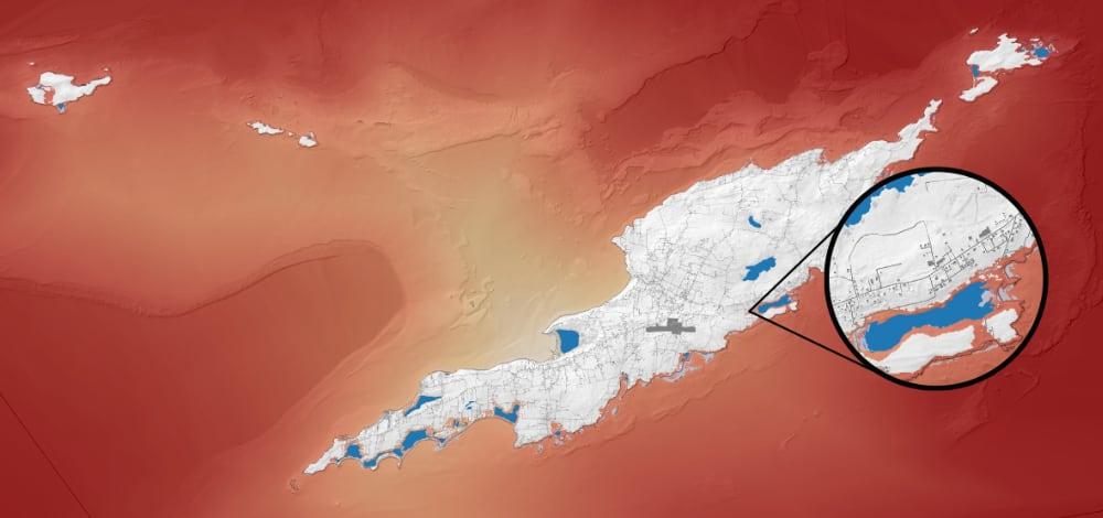 Anguilla storm surge